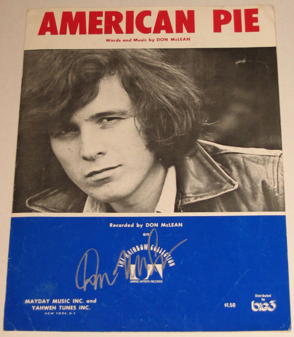 an analysis of don mcleans classic song american pie One of my college professors back in '72 gave us an assignment to write an analysis of the song i listened to it over and over and wrote what i thought was a wonderful essay about how american and religious values had changed.